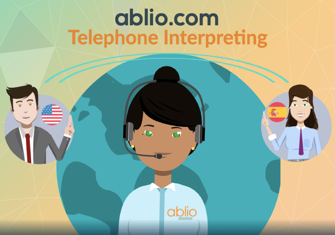 How to start requesting a telephone interpreting service with ablio?