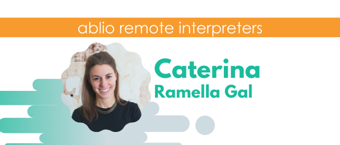Caterina Ramella Gal - Italian, English, Spanish Interpreter